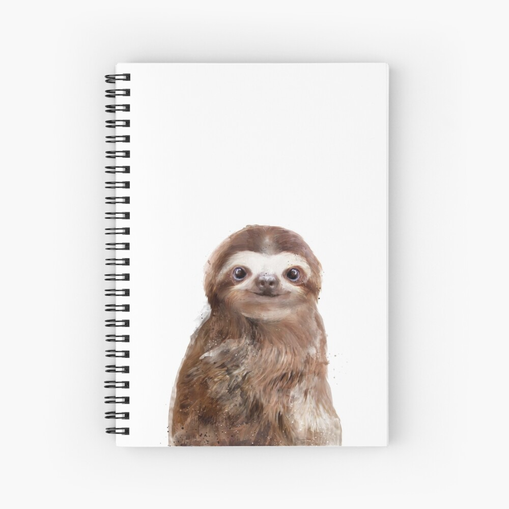 Little Sloth Spiral Notebook