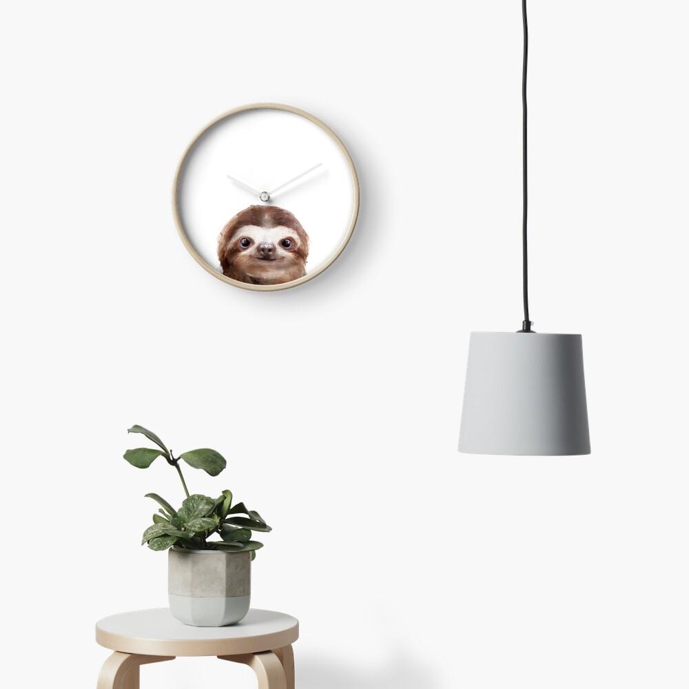 Little Sloth Clock
