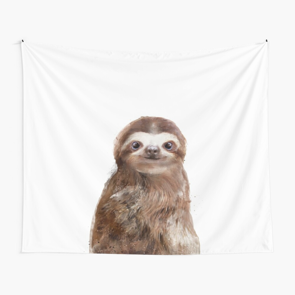 Little Sloth Wall Tapestry