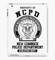 NCPD Athletic Department iPad Case/Skin