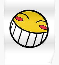 Cowboy Bebop Radical Ed Smiley Face Poster