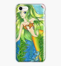 Mermaid and her Pokemon iPhone Case/Skin