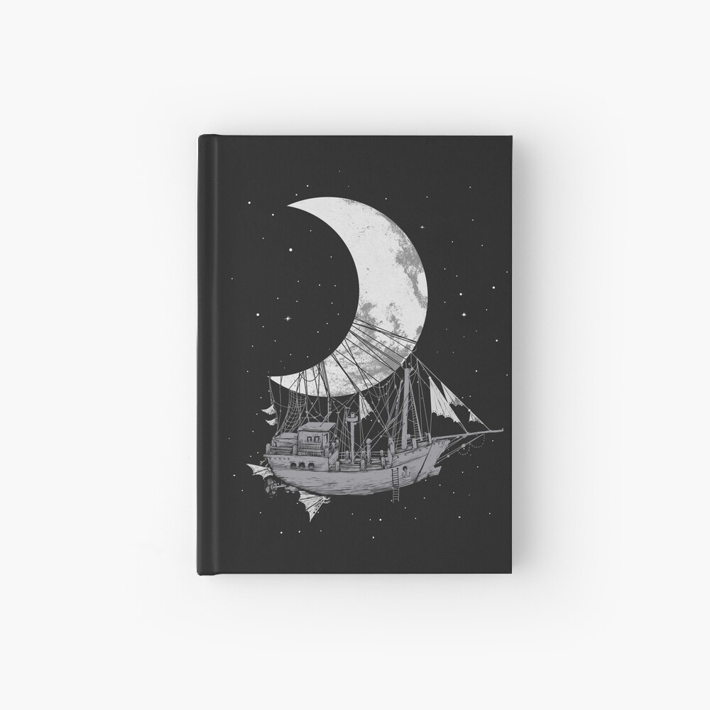Moon Ship Hardcover Journal