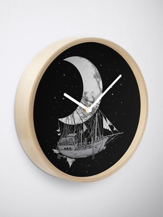 Alternate view of Moon Ship Clock