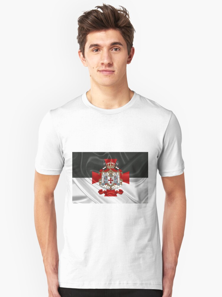 bed278ce Knights Templar - Coat of Arms over Flag