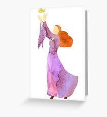 The Blood of Winterfell - Sansa Stark Greeting Card