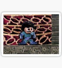 Mega Man vs Quickman Sticker