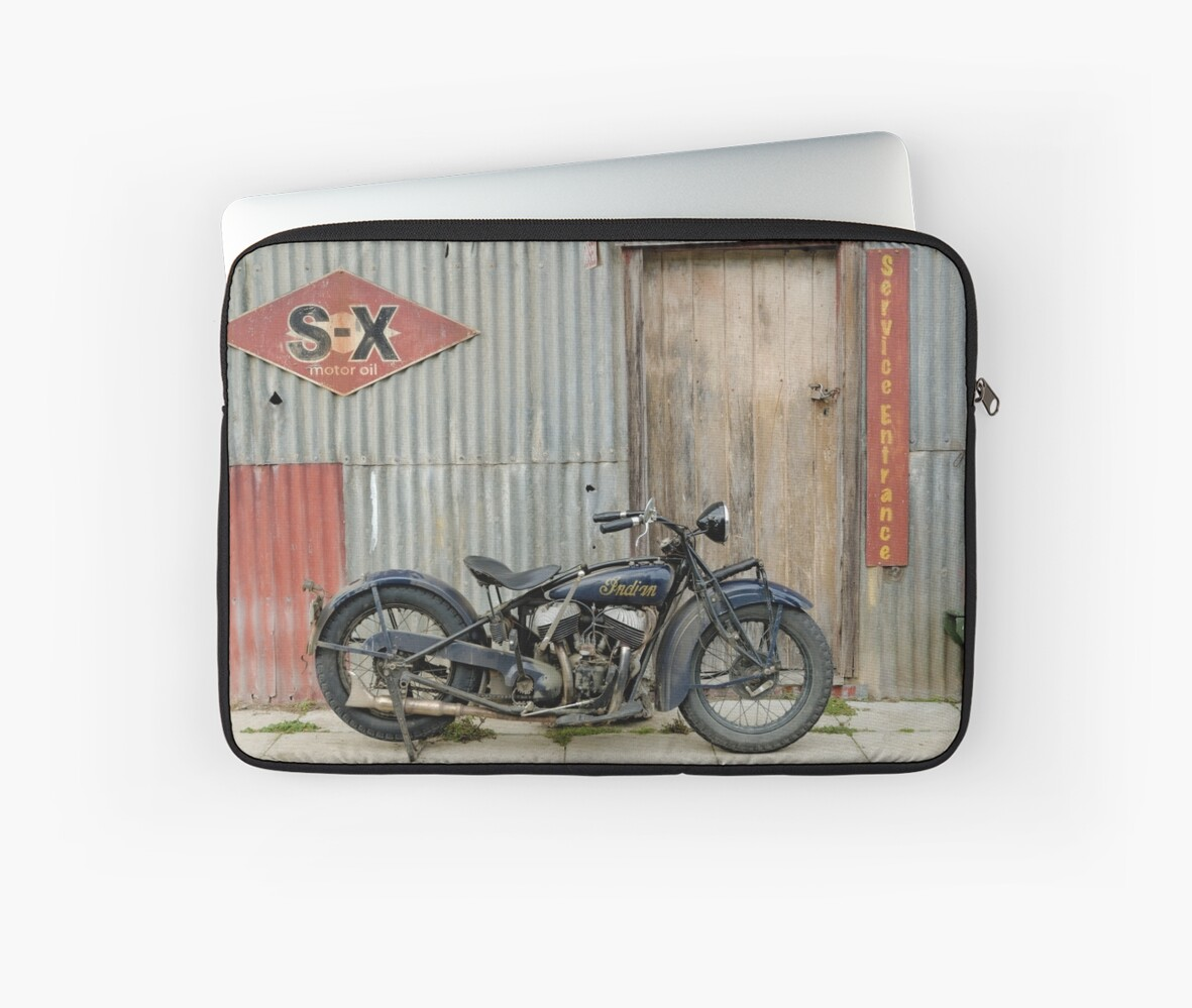 Indian Chout at the old Okains Bay Garage by FrankKletschkus
