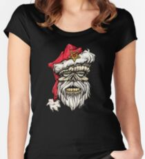 Undead Xmas Women's Fitted Scoop T-Shirt