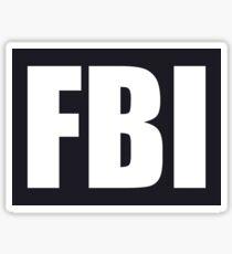NDVH FBI Sticker