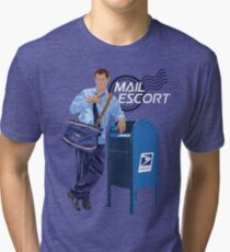 Mail Escort Tri-blend T-Shirt