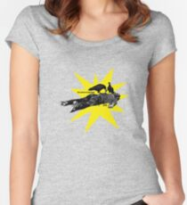 The Clash Give 'em Enough Rope Women's Fitted Scoop T-Shirt