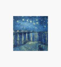 Vincent van Gogh - Sternennacht über der Rhône Galeriedruck