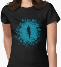 SlenderMan! Women's Fitted T-Shirt