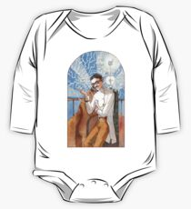 Nikola Tesla - The Magician One Piece - Long Sleeve