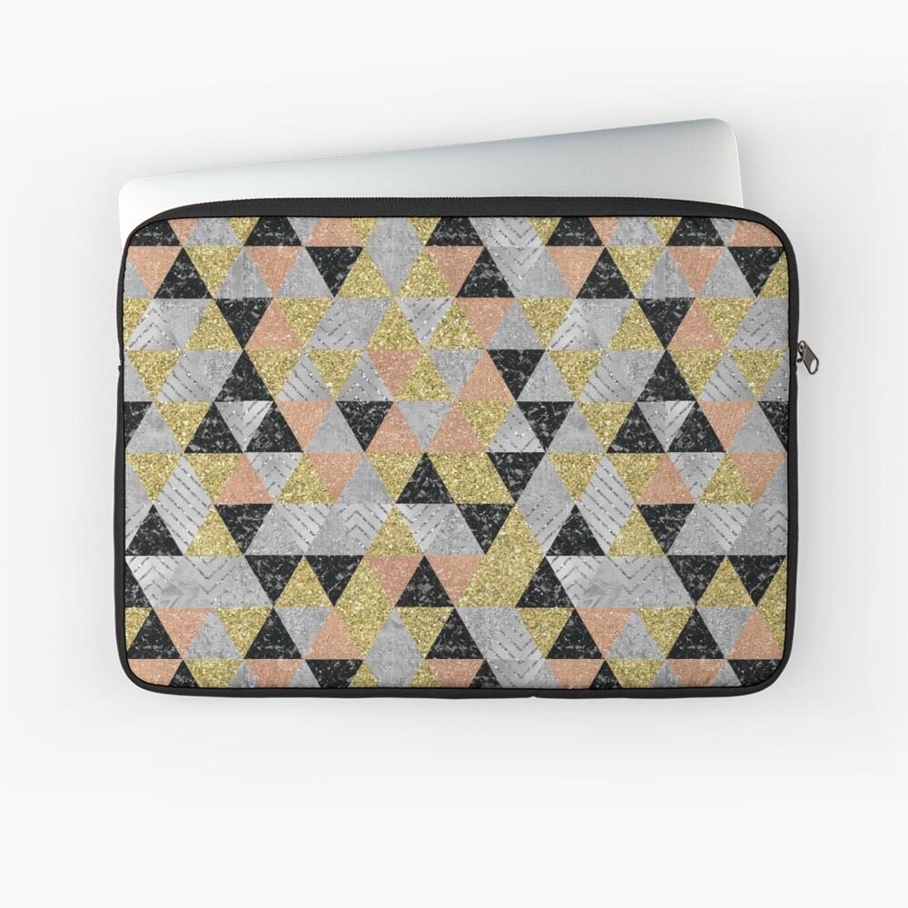 Neue Jahre Dreiecke Laptoptasche