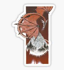 Hobbit illustration 1 Sticker