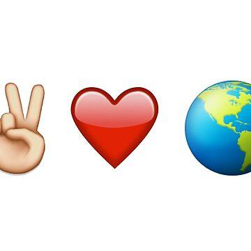 Emoji - Peace Love on Earth by popular