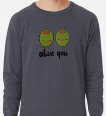 Olive Sie Leichter Pullover