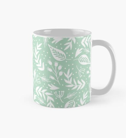 Winter Holiday at the Beach Mug