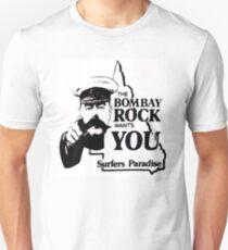 Camiseta ajustada bombay rock