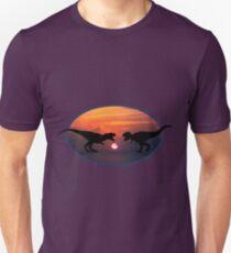 Tyrannosaurus - Sunset Showdown T-Shirt