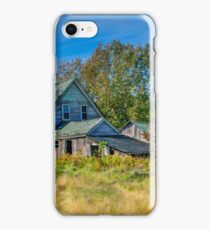 Abandoned House, Wentworth Valley, Nova Scotia iPhone Case/Skin