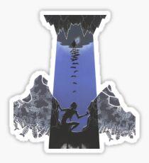 Hobbit illustration 3 Sticker