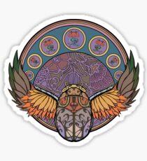 El Escarabajo Sticker