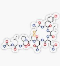 Oxytocin Transparent Sticker