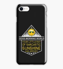 Good Morning World! iPhone Case/Skin