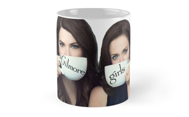 Gilmore Girls - Lorelai and Rory by klauds-