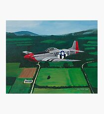 P 51-D Mustang Photographic Print