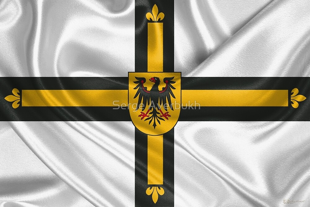 Flag of the Teutonic Order  by Serge Averbukh
