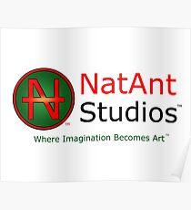 NatAnt Studios' NA Logo and slogan Poster