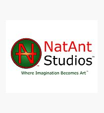 NatAnt Studios' NA Logo and slogan Photographic Print