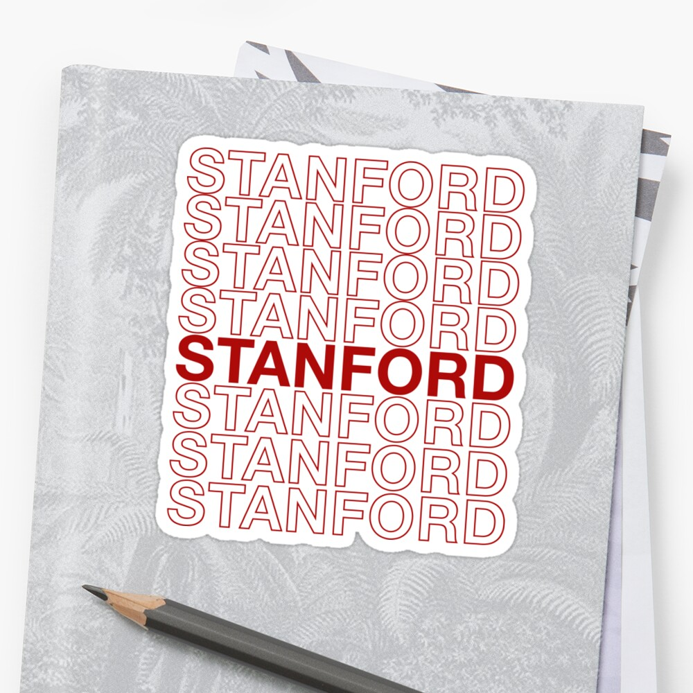 Stanford Thank You Bag by channingsmith