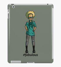 #fabulous iPad Case/Skin
