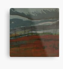travelling home from northumberland Metal Print