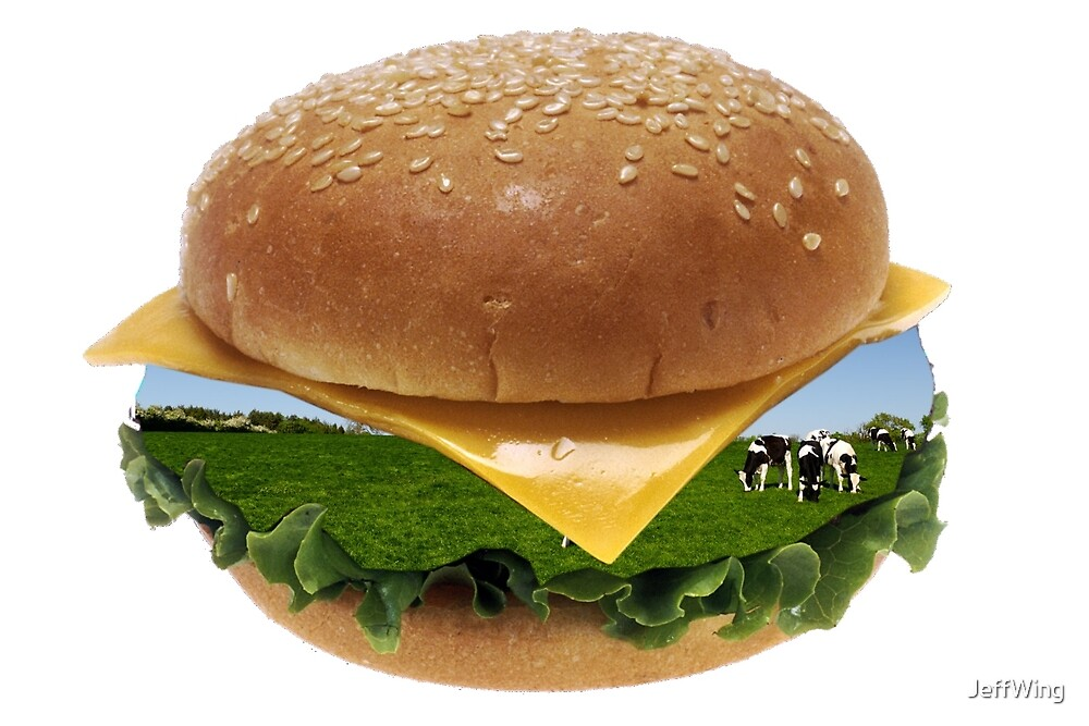 Cheeseburger Cows  by JeffWing