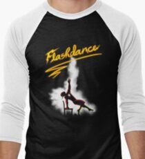 Flashdance Men's Baseball ¾ T-Shirt