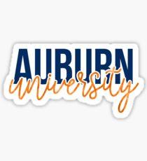 Auburn - Style 13 Sticker