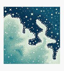 Snowdrift Nebula (8bit) Photographic Print