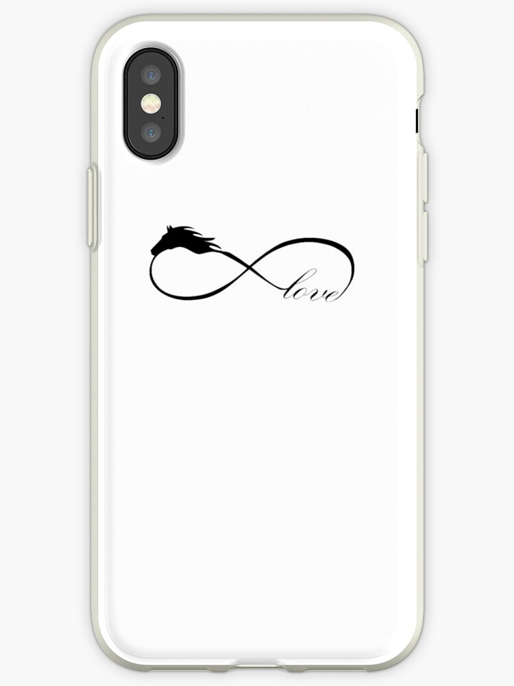 Horse Love Infinite Love Infinity Symbol Iphone Cases Covers By