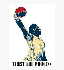 embiid trust the process Photographic Print