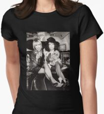 Patsy and Eddie Sweetie Darling Women's Fitted T-Shirt