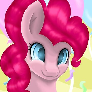 Pinkie Pie Portrait by LegendDestroye