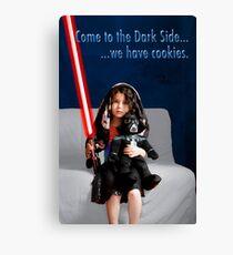 Sci Fi Girl Gone Bad Canvas Print