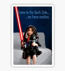 Sci Fi Girl Gone Bad Sticker