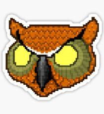Hotline Miami rasmus owl mask Sticker